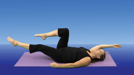 Pilates Exercises with Ring/Circle